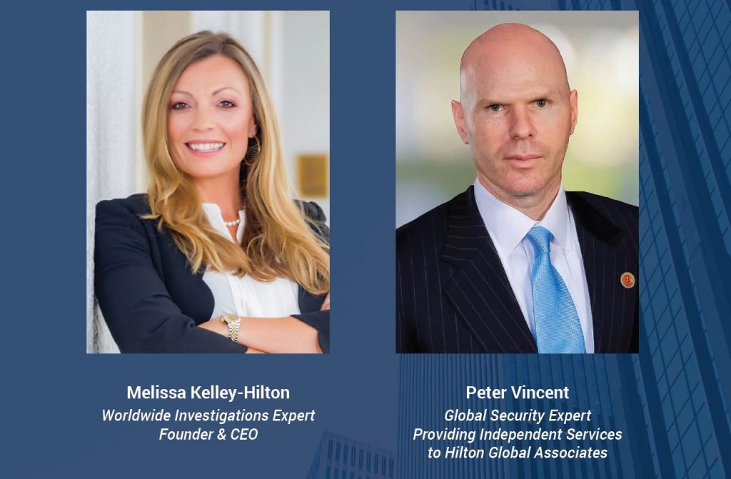 Melissa Kelly-Hilton appoints Peter Vincent as Global Security Advisor | Hilton Global Associates Investigative Due Diligence